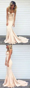 Online Simple Sweet Heart Mermaid Sexy Junior Cheap Long Occasion Dress for Wedding Party Prom, BG0101