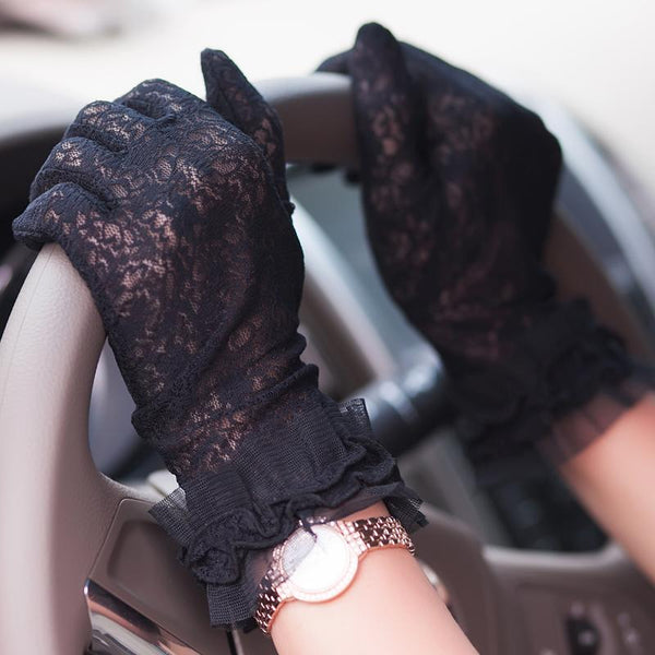 Wedding Gloves, Lace Wedding Gloves, Short Gloves, Lovely Gloves, TYP0534