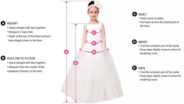 Square-neck Lace Strap Knee-length Gown, Lovely Flower Girl Dresses , EME071