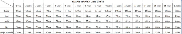 V-neck Ruffles Knee-length Flower Girl Dresses With Bow, FG0003