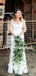 Vintage Spaghetti Strap Sleeveless Mermaid Lace Long Wedding Dresses.PB1249