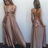 Long Simple Sexy Floor-length A-line Sexy Pretty Prom Dresses.RG0077