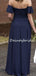 Elegant Straight Side Slit Zipper Up Wedding Party Evening Dresses Long Bridesmaid Dresses. PD1171