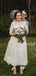 Beautiful Scoop Neck Lace Tulle 1/2 Sleeve Ankle Length Wedding Dresses.PB1144