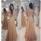 A-line With Appliques Elegant Cocktail For Young Girls Evening Prom Dress.PB1009