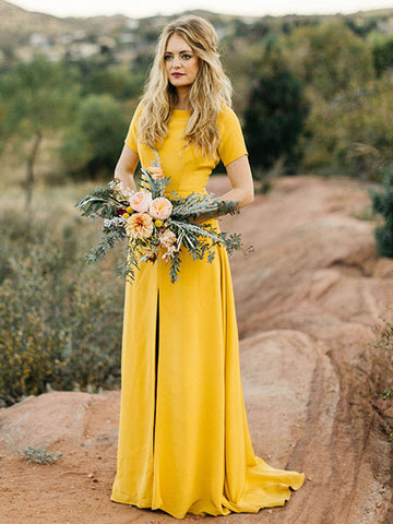 products/Bright_Yellow_Short_Sleeve_Front_Slit_Sheath_Long_Bridesmaid_Dresses_PB1068-1.jpg