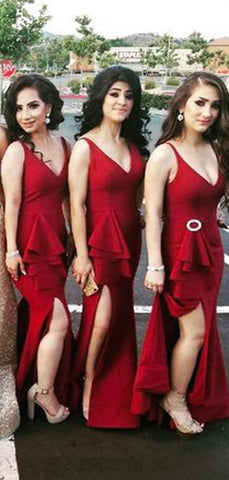 products/Burgundy_Sleeveless_V-neck_Mermaid_Side_Slit_With_Train_Long_Bridesmaid_Dresses_PB1079-4.jpg