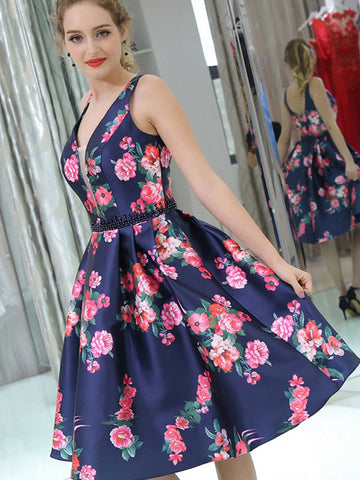 products/Navy_Satin_Red_Floral_Prints_Homecoming_Dresses_BD00233-1.jpg