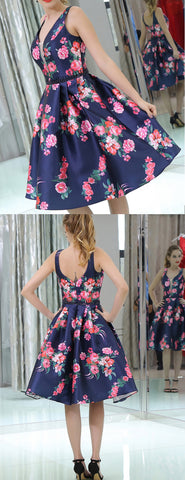 products/Navy_Satin_Red_Floral_Prints_Homecoming_Dresses_BD00233-2.jpg