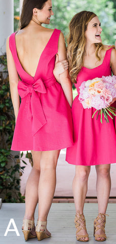 products/Pink_Satin_Mismatched_Bowknot_Sweet_Short_Bridesmaid_Dresses_PB1083-2.jpg