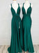 Teal Jersey Convertible Elegant Simple Bridesmaid Dresses,PB1051