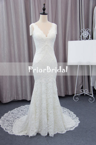 products/Unique_Cap_Sleeves_V-neck_Ivory_Lace_Mermaid_With_Train_Wedding_Dress._RG0401-a.jpg