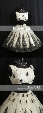 products/Vintage_Black_And_White_Lace_Elegant_Homecoming_Dresses_BD00216-2.jpg