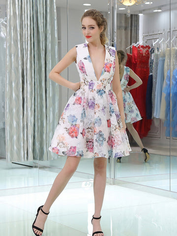 products/White_Floral_Prints_V-neck_Homecoming_Dresses_BD00232-1.jpg