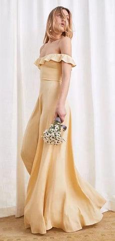 products/Yellow_Ruffle-edged_Off_Shoulder_Floor_Length_Boho_Bridesmaid_Dresses_PB1067-2.jpg
