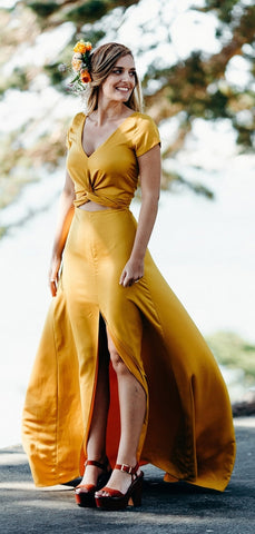 products/Yellow_Short_Sleeve_Front_Slit_A-line_Long_Bridesmaid_Dresses_PB1071-2.jpg