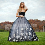 Unique Sweetheart Affordable Formal Long Evening Prom Dresses, PM1050