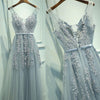 Popular Tulle Applique Teenagers Inexpensive Formal Long Prom Dresses, PM0286 - Prom Muse