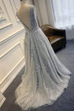Pretty Tulle Applique Teenagers Inexpensive Formal Long Prom Dresses, PM0287 - Prom Muse