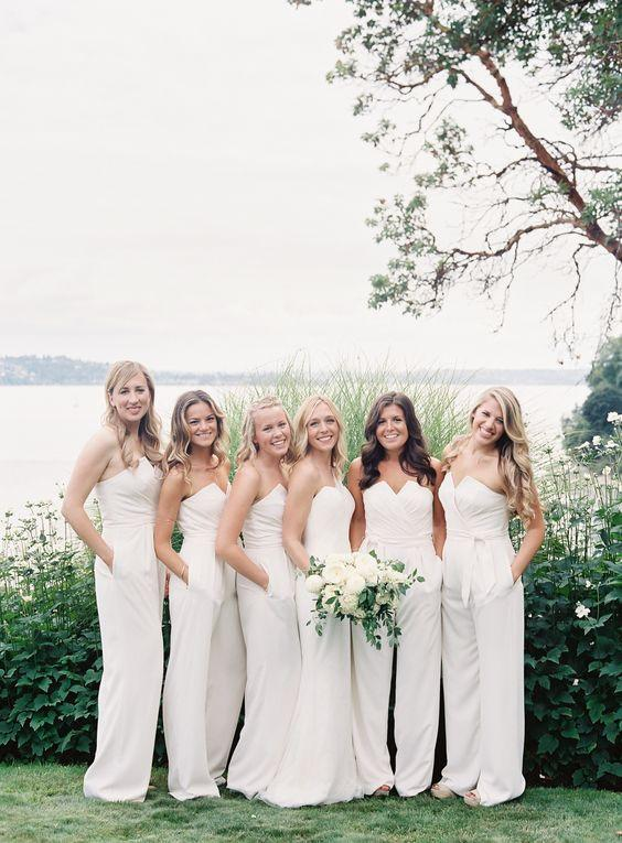 2017 Unique Elegant Cheap Simple Long Bridesmaid Dresses, WG411