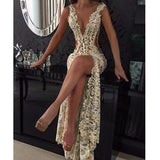 Long Sleeves V Neck Tulle Applique Inexpensive Long Prom Dresses, PM0054 - Prom Muse