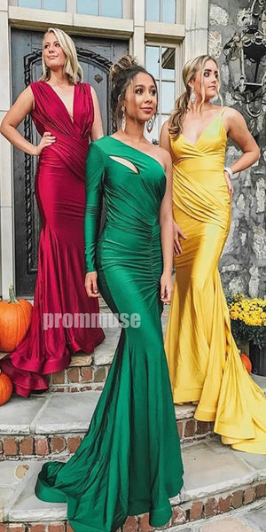 Mismatched Mermaid Sexy Long Bridesmaid Dresses DGW33