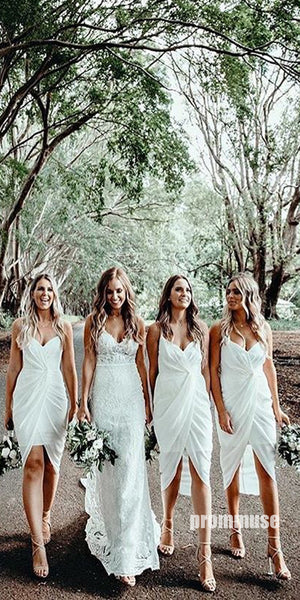 Popular Ivory Sweetheart Affordable Bridesmaid Dresses DGW21