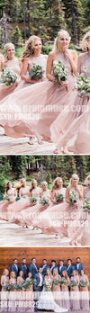 Charming Popular Hater Sequin top Formal Wedding Long Bridesmaid Dresses, PM0829