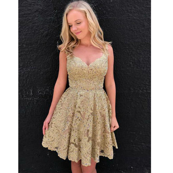Popular Lace On Sale Lovely Teenager Short Homecoming Dresses, LD123 - Prom Muse