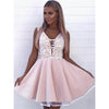Junior Lovely Simple Cheap School Graduation Short Homecoming Dresses, LD116 - Prom Muse