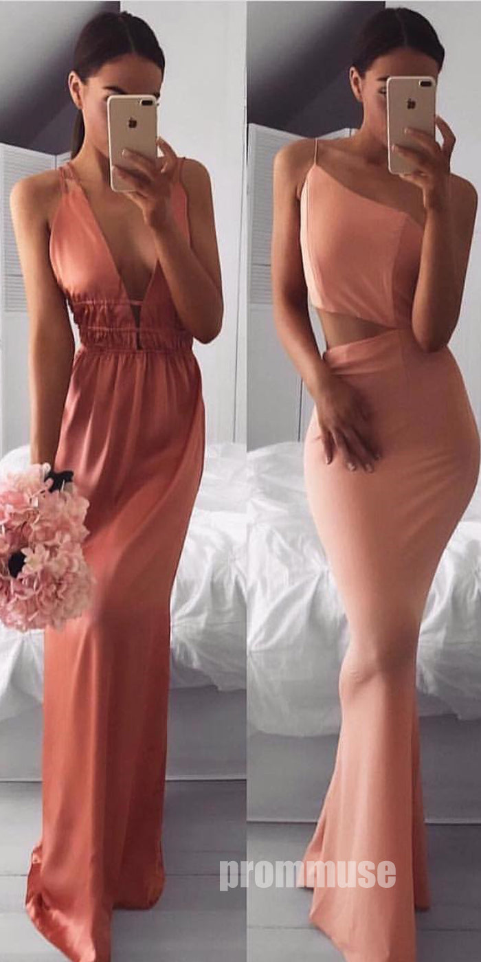 Sexy Simple Unique Design Cheap Long Prom Dresses SPE133