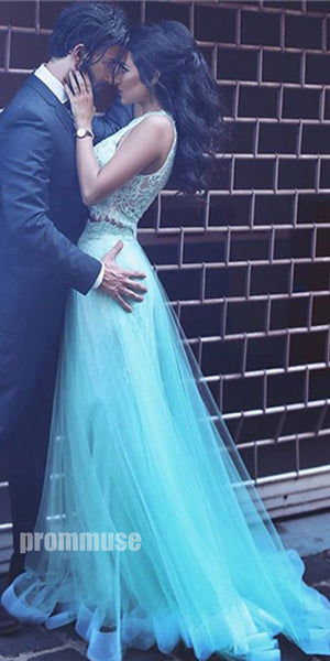Popular Two Pieces Formal Cheap Evening Long Prom Dresses, PM0778