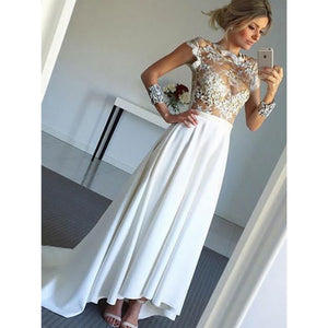 Affordable Unqiue New Arrival Charming Long Sleeves Cheap Long Prom Dresses, PM0801 - Prom Muse