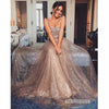 Sparkle A Line Popular Long Prom Dresses SPE169