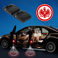 CarfbGE1-10 Eintracht Frankfurt WIRELESS LED CAR DOOR PROJECTORS