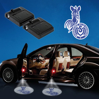 CarfbGE3-19 MSV Duisburg WIRELESS LED CAR DOOR PROJECTORS