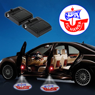CarfbGE3-21 Hansa Rostock WIRELESS LED CAR DOOR PROJECTORS