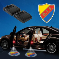 CarFbSwe1 - 02 - Djurgårdens IF Fotboll WIRELESS LED CAR DOOR PROJECTOR