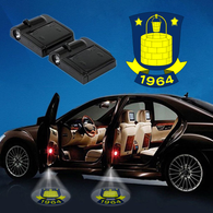 CarFbDen1 - 05 - Brøndby IF WIRELESS LED CAR DOOR PROJECTOR