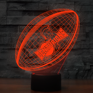3DRuEng0-06New- Leigh Centurions 3D Illusion Lamp 7 Color Changeable Night Lights