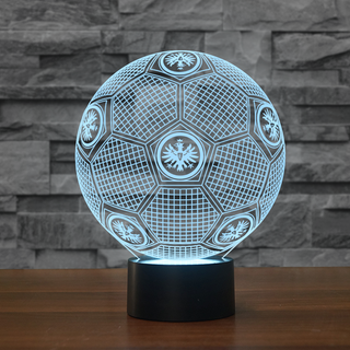 GE0-10-3D Illusion Lamp DE Football Lamp Eintracht Frankfurt Soccer Night Lights 3D Visual lights Desk Luminaria