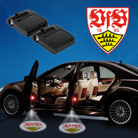CarfbGE2-18 VfB Stuttgart WIRELESS LED CAR DOOR PROJECTORS