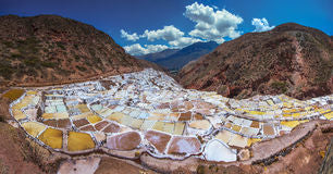 Salt form the Peruvian Andes Sacred Valley