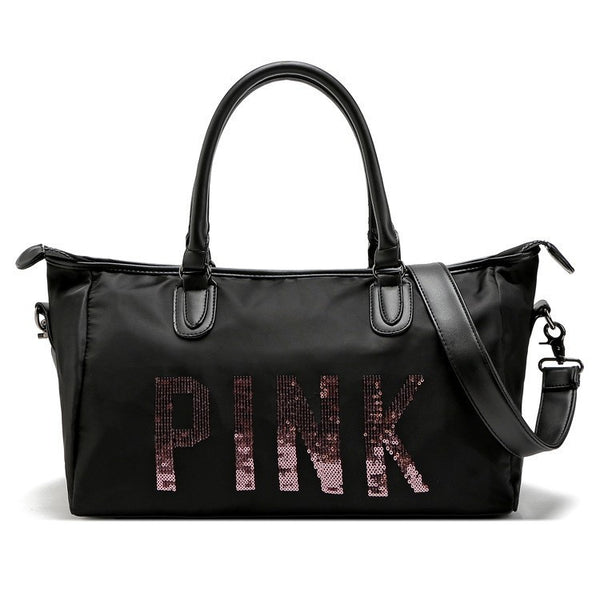 Pink Travel Duffle