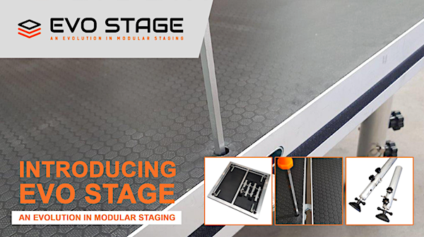 EvoStage Portable Stage Systems