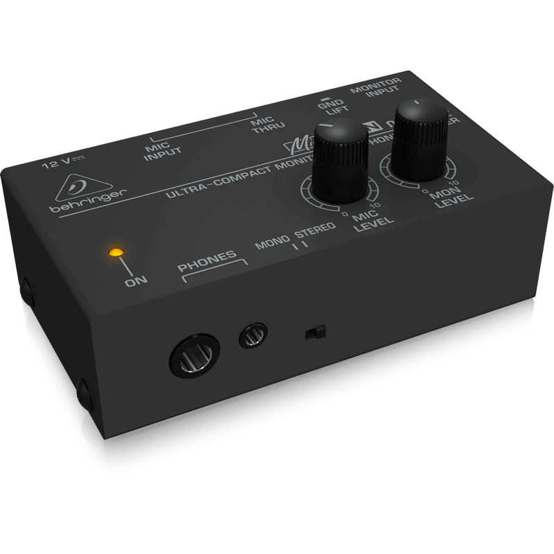 behringer micromon ma400 monitor headphone amp get some more me cannon sound and light. Black Bedroom Furniture Sets. Home Design Ideas