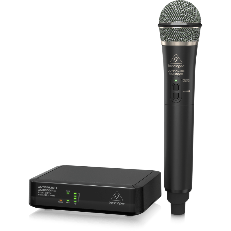 behringer ulm300mic 2 4 ghz handheld wireless microphone system cannon sound and light. Black Bedroom Furniture Sets. Home Design Ideas