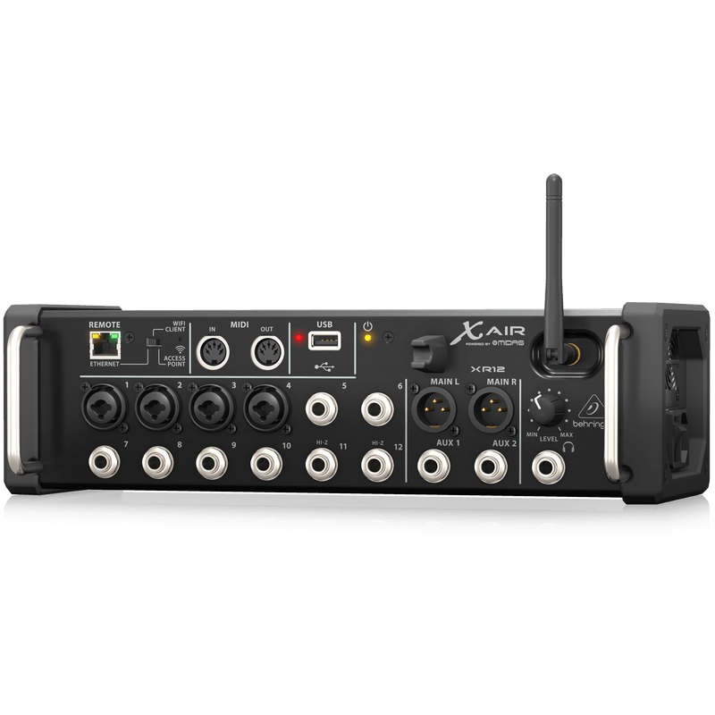 behringer x air xr12 12 input digital mixer for ipad android tablets cannon sound and light. Black Bedroom Furniture Sets. Home Design Ideas