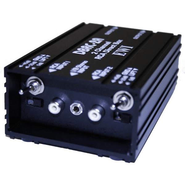 Direct Input Box : ewi 2 channel passive direct input box with rca 1 8 stereo inputs cannon sound and light ~ Hamham.info Haus und Dekorationen