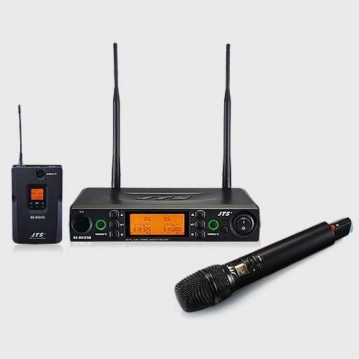 Jts 8012db Dual Channel Wireless Microphone System